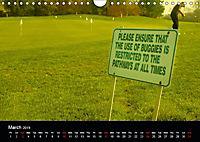 Golf (Wall Calendar 2019 DIN A4 Landscape) - Produktdetailbild 3