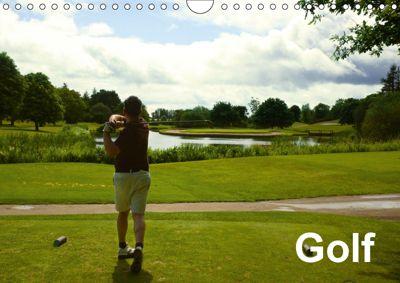 Golf (Wall Calendar 2019 DIN A4 Landscape), Gianluigi fiori