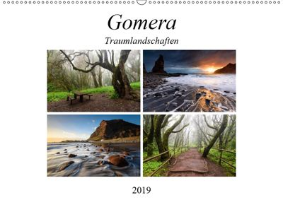 Gomera Traumlandschaften (Wandkalender 2019 DIN A2 quer), Raico Rosenberg