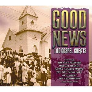 Good News: 100 Gospel Greats, Diverse Interpreten
