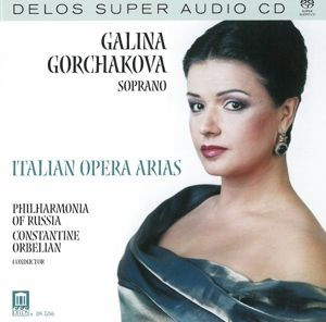 Gorchakova Ital.Arien Sa-Cd, Gorchakova, Orbelian, Philharmonia