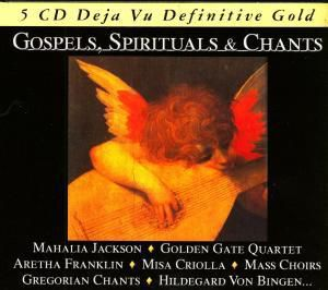 Gospels, Spirituals & Chants, 5 CDs, Diverse Interpreten