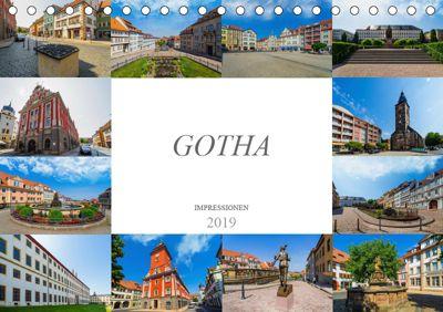 Gotha Impressionen (Tischkalender 2019 DIN A5 quer), Dirk Meutzner