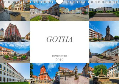 Gotha Impressionen (Wandkalender 2019 DIN A4 quer), Dirk Meutzner