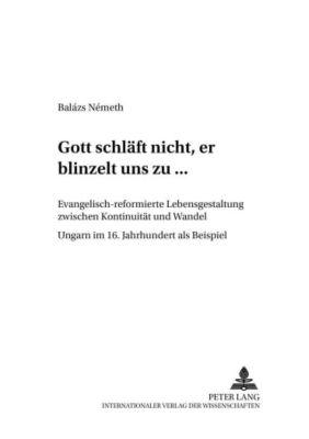«...Gott schläft nicht, er blinzelt uns zu...», Balázs Németh
