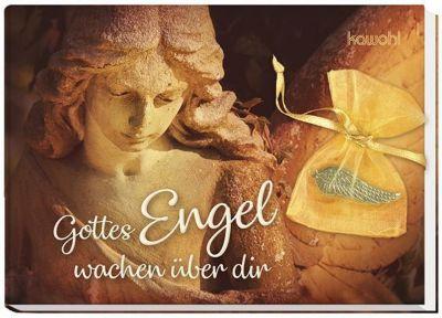 Gottes Engel wachen über dir, m. Flügel-Anhänger