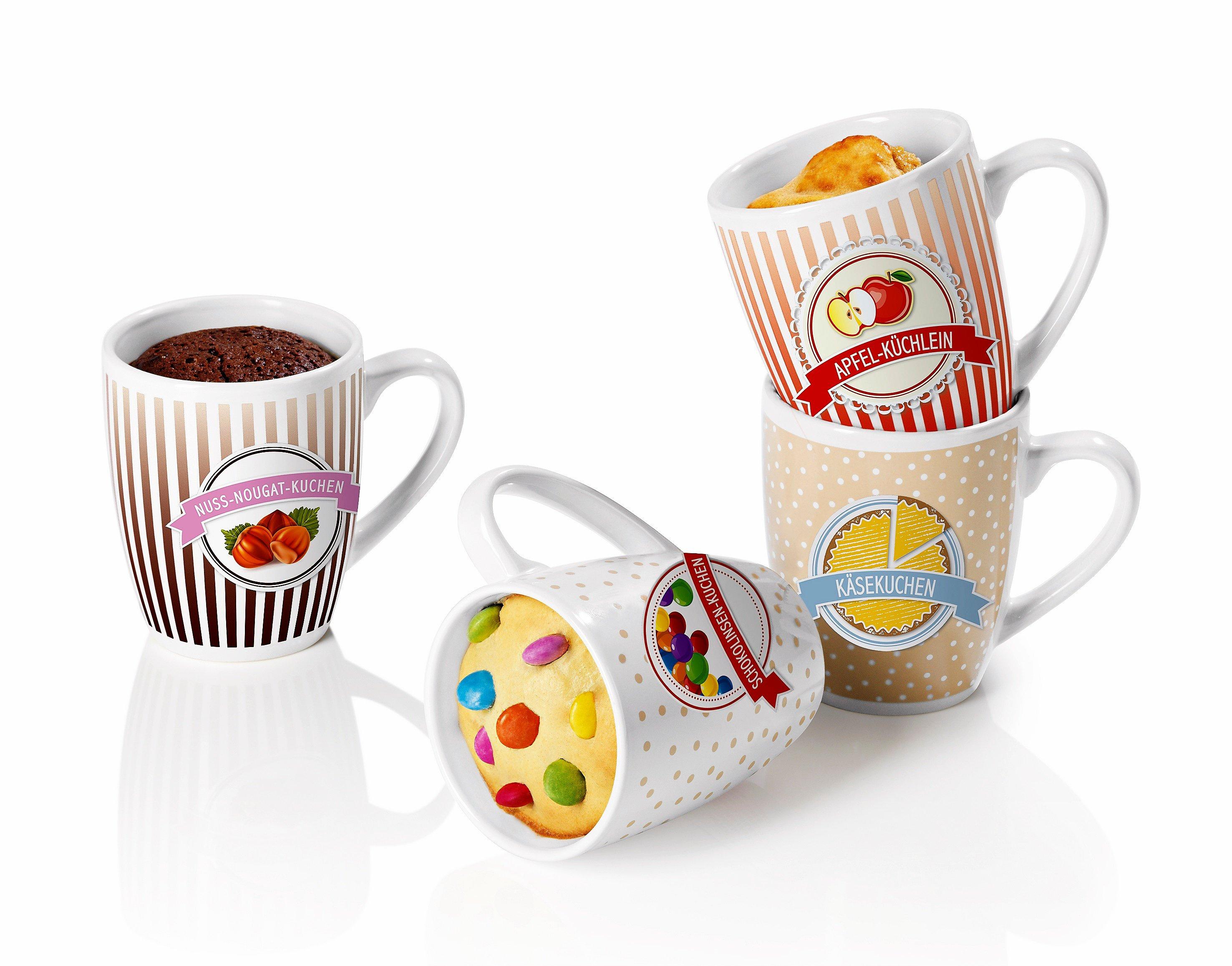 Gourmetmaxx Becher Set Tassen Backerei 4tlg Weltbild De