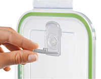 GOURMETmaxx Glas Frischhaltedosen Klick-It, 8tlg., limegreen - Produktdetailbild 4