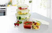 GOURMETmaxx Glas Frischhaltedosen Klick-It, 8tlg., limegreen - Produktdetailbild 6