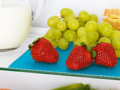 Kühlschrank Matte Antibakteriell : Gourmetmaxx kühlschrankmatten tlg türkis weltbild