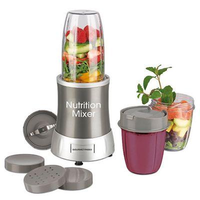 GOURMETmaxx Nutrition Mixer, 11tlg. grau