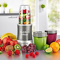 GOURMETmaxx Nutrition Mixer, 11tlg. grau - Produktdetailbild 4