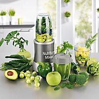 GOURMETmaxx Nutrition Mixer, 11tlg. grau - Produktdetailbild 5