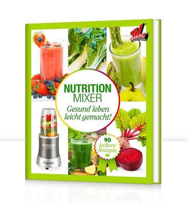 GOURMETmaxx Nutrition Mixer Rezeptbuch