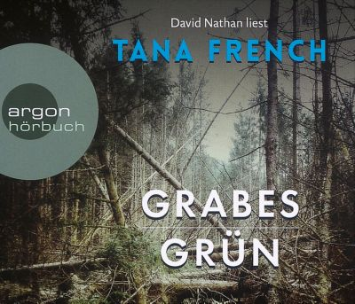 Grabesgrün, 6 Audio-CDs, Tana French