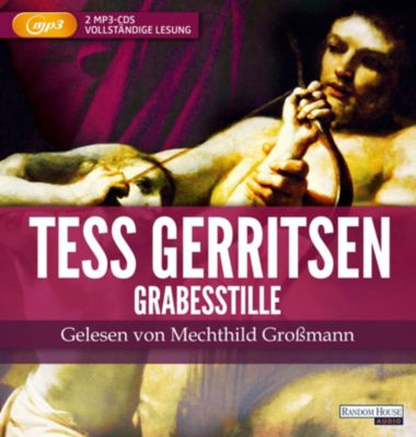 Grabesstille, 2 MP3-CDs, Tess Gerritsen
