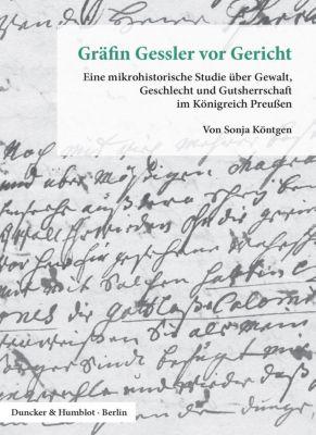 Gräfin Gessler vor Gericht. - Sonja Köntgen  