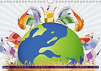 Graffiti my love (Wall Calendar 2019 DIN A4 Landscape) - Produktdetailbild 4