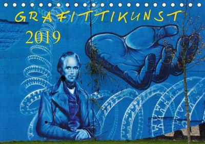 Grafittikunst (Tischkalender 2019 DIN A5 quer), Klaus Fröhlich
