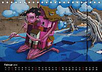 Grafittikunst (Tischkalender 2019 DIN A5 quer) - Produktdetailbild 2