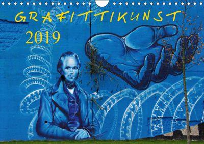 Grafittikunst (Wandkalender 2019 DIN A4 quer), Klaus Fröhlich