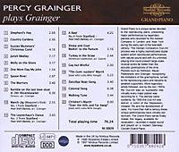Grainger Plays Grainger - Produktdetailbild 1