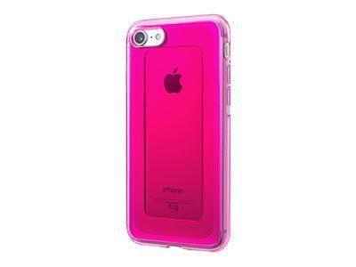 GRAMAS Gems Hybrid Huelle iPhone 8+/7+ Schutzhuelle iPH 8/7 Plus Polycarbonat Elastomer Kunst. Falltest MIL-STD-810G PK pink