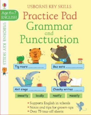Grammar & Punctuation Practice Pad, Simon Tudhope