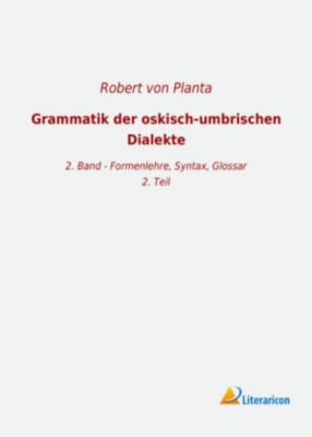 Grammatik der oskisch-umbrischen Dialekte -  pdf epub
