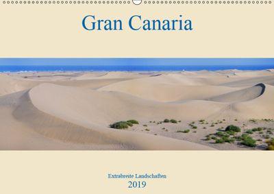 Gran Canaria - Extrabreite Landschaften (Wandkalender 2019 DIN A2 quer), Martin Wasilewski