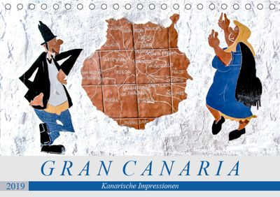 Gran Canaria - Kanarische Impressionen (Tischkalender 2019 DIN A5 quer), Dieter Meyer