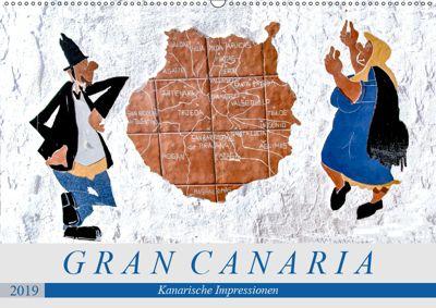 Gran Canaria - Kanarische Impressionen (Wandkalender 2019 DIN A2 quer), Dieter Meyer
