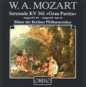 Gran Partita/Adagios-Kammermusik Für Bläser, Bläser Der Berliner Philharmoniker
