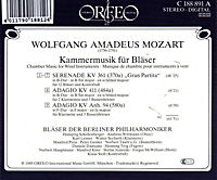 Gran Partita/Adagios-Kammermusik Für Bläser - Produktdetailbild 1