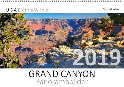 GRAND CANYON Panoramabilder (Wandkalender 2019 DIN A2 quer), Dieter-M. Wilczek
