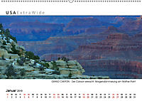 GRAND CANYON Panoramabilder (Wandkalender 2019 DIN A2 quer) - Produktdetailbild 1