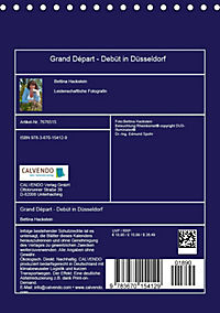 Grand Départ - Debüt in Düsseldorf (Tischkalender 2019 DIN A5 hoch) - Produktdetailbild 13