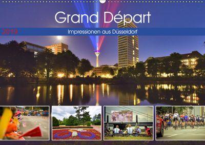 Grand Départ - Impressionen aus Düsseldorf (Wandkalender 2019 DIN A2 quer), Bettina Hackstein