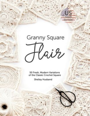 Granny Square Flair US Terms Edition, Shelley Husband