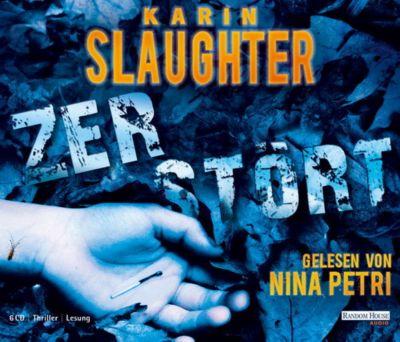 Grant County Band 6: Zerstört (6 Audio-CDs), Karin Slaughter