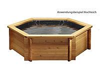 Grasekamp Gartenteich Hochteich Teich Einsatz 8  eckig - Produktdetailbild 1