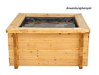 Grasekamp Gartenteich Hochteich Teich Einsatz  80x80 cm - Produktdetailbild 1