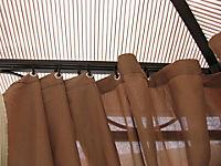 Grasekamp Hardtop Pavillon 3x3m mit Seitenteile  Doppelstegplatten Polycarbonat - Produktdetailbild 3