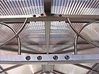 Grasekamp Hardtop Pavillon 3x3m mit Seitenteile  Doppelstegplatten Polycarbonat - Produktdetailbild 4
