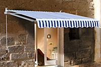 Grasekamp Markise, 250 x 150 cm (Farbe: blau weiß) - Produktdetailbild 1