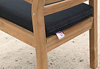 Grasekamp Sitzkissen Anthrazit zu Sessel und Stuhl - Produktdetailbild 1