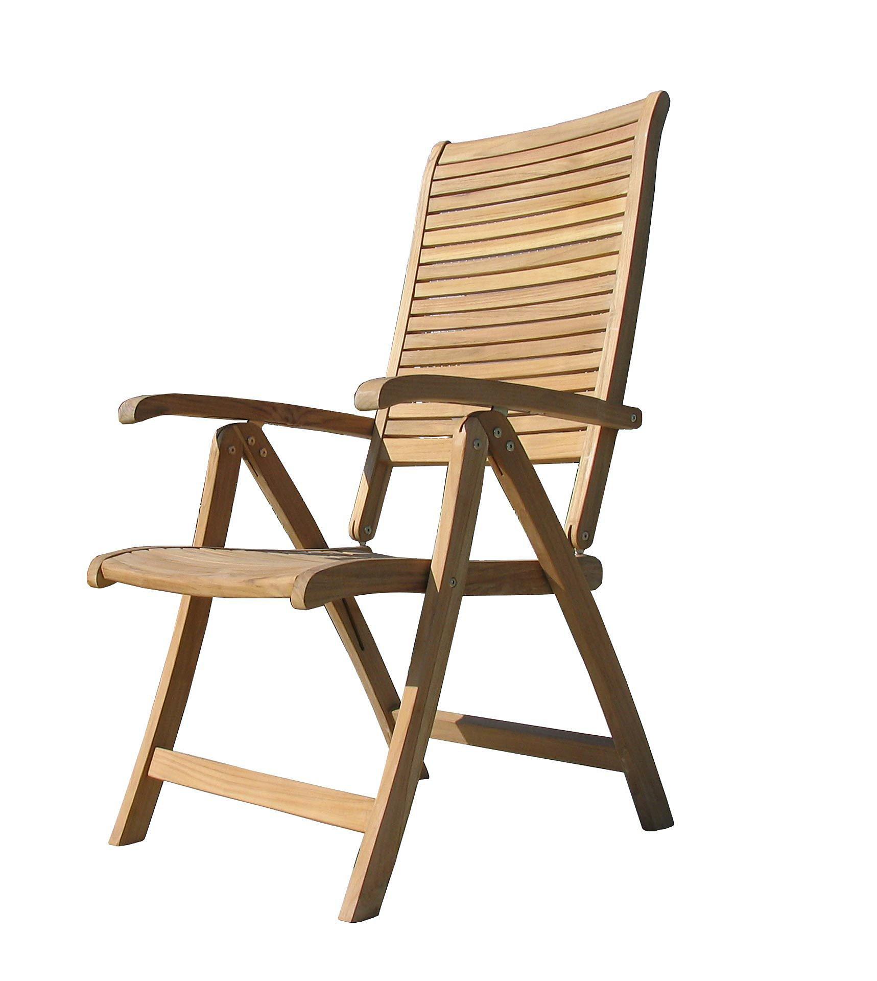 Grasekamp Teak Sessel Verstellbar Gartenstuhle Klappstuhl Teak Holz