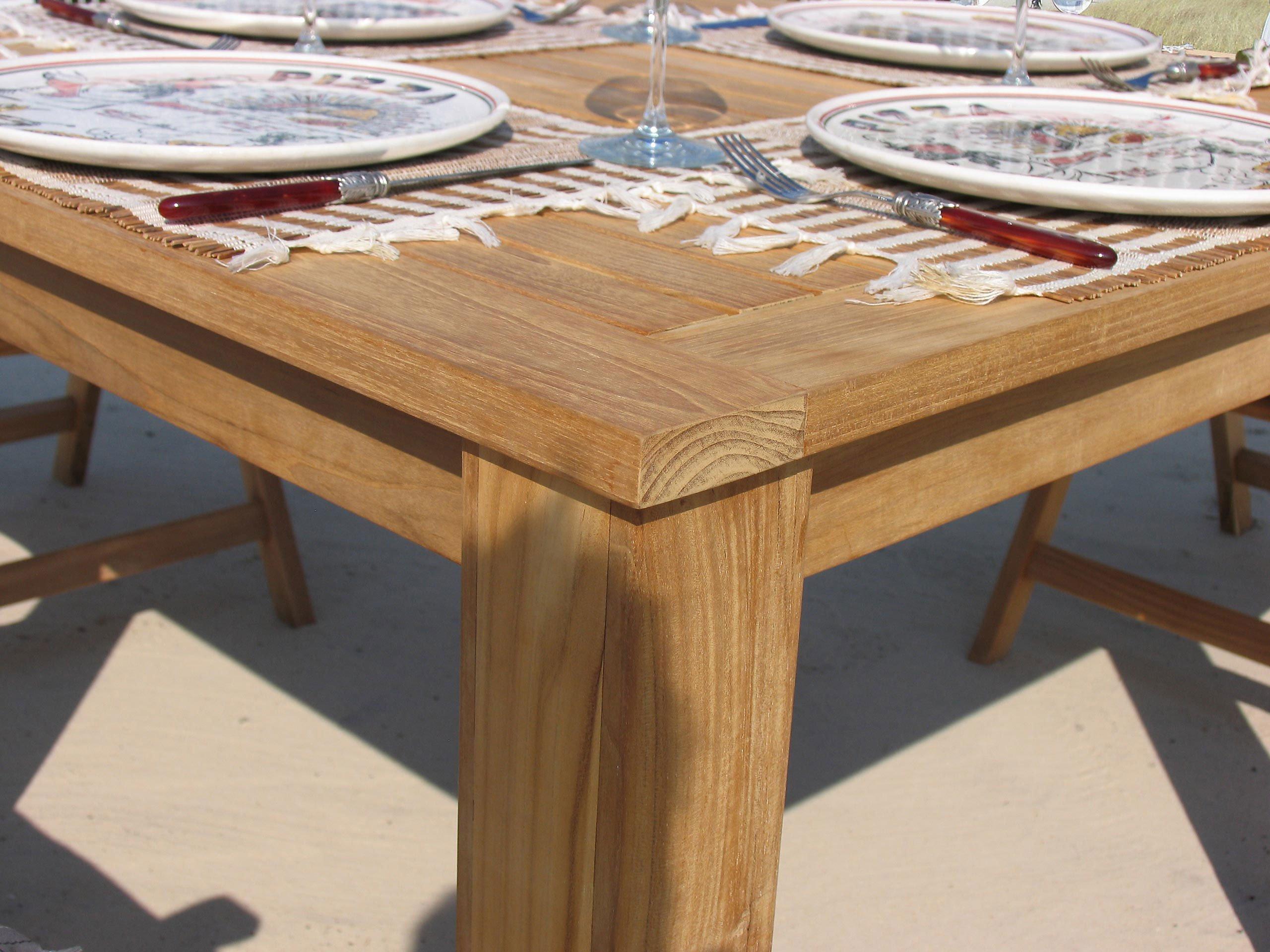 Grasekamp Teak Tisch 100x100 Cm Esstisch Gartenmobel Gartentisch