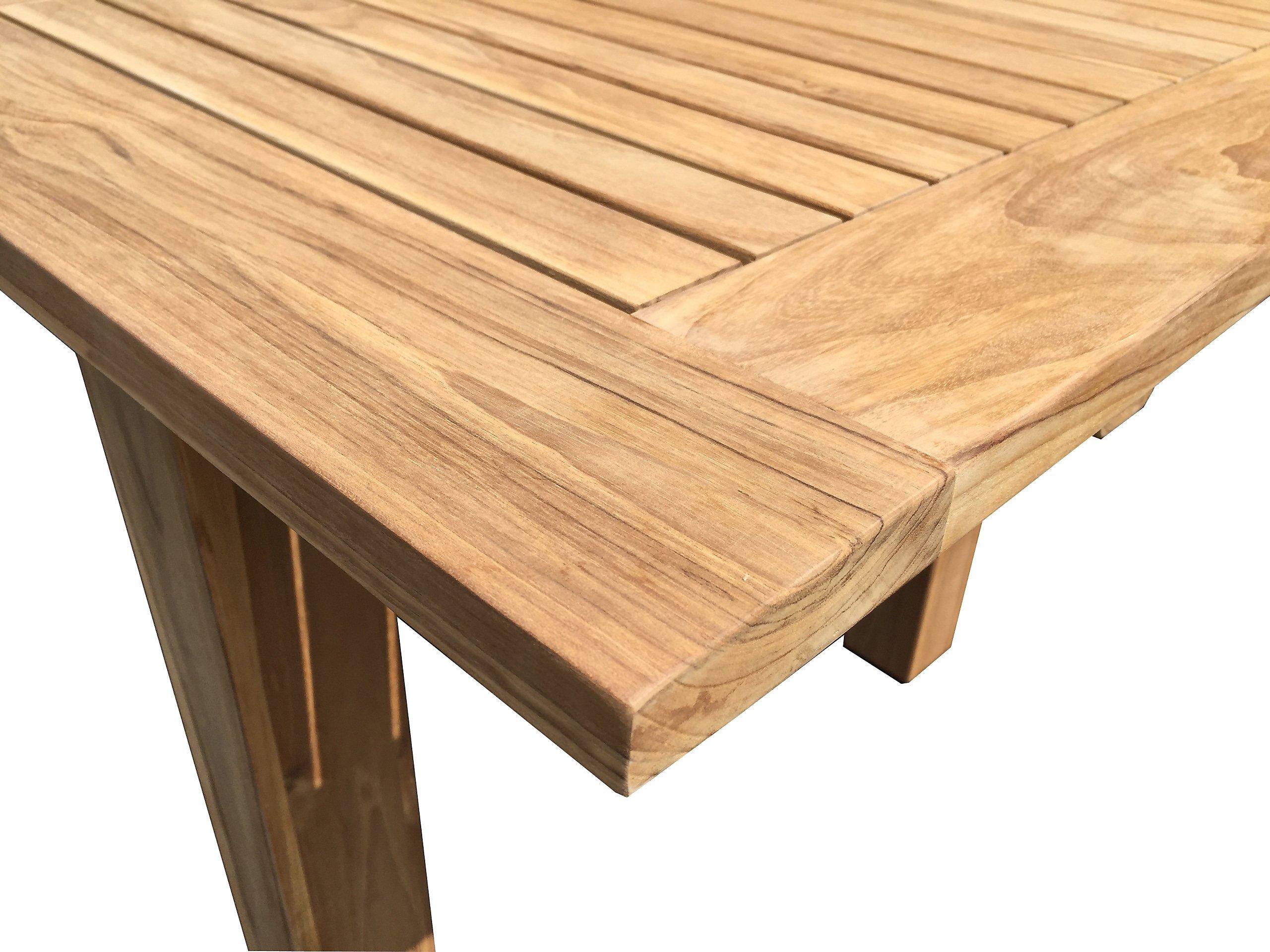 Grasekamp Teak Tisch 200 260x100 Cm Ausziehbar Esstisch
