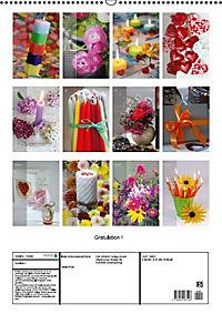 Gratulation ! (Wandkalender immerwährend DIN A2 hoch) - Produktdetailbild 13